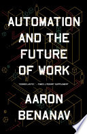 Automation And The Future Of Work Book PDF