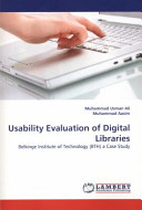 Usability Evaluation of Digital Libraries Book