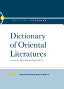 Dictionary of Oriental Literatures 3