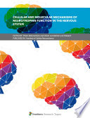 Cellular and Molecular Mechanisms of Neurotrophin Function in the Nervous System