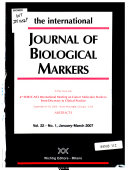 The International Journal Of Biological Markers Book PDF