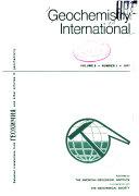 Geochemistry International Book