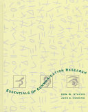 Essentials Of Communication Research