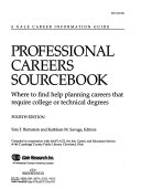 Professional Careers Sourcebook