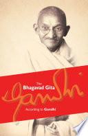 Bhagavad Gita According to Gandhi Book