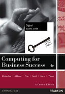 Cover of Computing for Business Success (Pearson Original EBook)