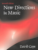 New Directions in Music