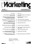 Journal of Marketing Book