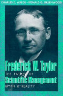 Frederick W  Taylor  the Father of Scientific Management
