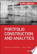 Portfolio Construction and Analytics Book