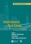 International Real Estate Book