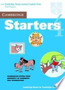Cambridge Starters 4 Student's Book