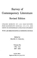 Survey of Contemporary Literature