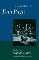 The Selected Poetry of Dan Pagis