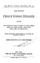 The Choice School Speaker