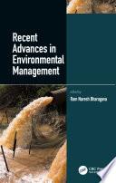 Recent Advances In Environmental Management Book PDF