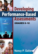 Developing Performance Based Assessments  Grades 6 12 Book
