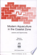 Modern Aquaculture In The Coastal Zone Book PDF