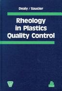 Rheology in Plastics Quality Control