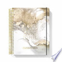 The Desire Map Planner from Danielle Laporte 2019 Undated Edition (Gold and White)