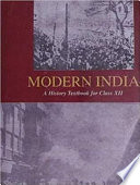 History of Modern India by Bipan Chandra  NCERT