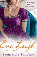 From Duke till Dawn  2018   s most scandalous Regency read  Shady Ladies of London  Book 1