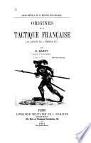 Origines de la tactique francaise