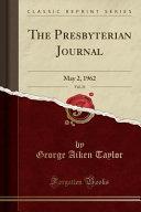 The Presbyterian Journal Vol 21