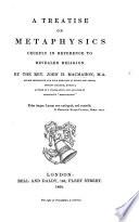 A Treatise on Metaphysics