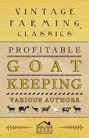 Profitable Goat Keeping