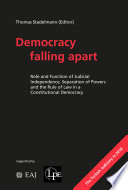 Democracy falling apart  Open Acces  Book