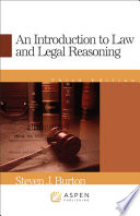 An Introduction To Law And Legal Reasoning