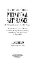 The Beverly Hills International Party Planner Book