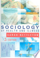 """The Sociology of Health and Illness"" by Sarah Nettleton"