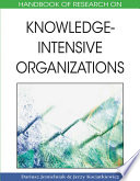 Handbook Of Research On Knowledge Intensive Organizations Book PDF