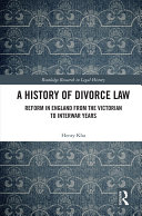 A History of Divorce Law