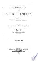 Revista general de legislación y jurisprudencia  , Band 96