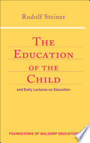 Cover of The Education of the Child and Early Lectures on Education