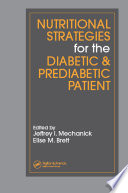 Nutritional Strategies for the Diabetic Prediabetic Patient