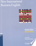 New International Business English Updated Edition Teacher S Book