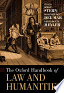 The Oxford Handbook of Law and Humanities Book