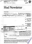HUD Newsletter