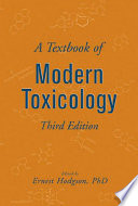 A Textbook of Modern Toxicology