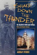 Shake Down the Thunder Book