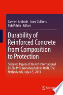 Durability of Reinforced Concrete from Composition to Protection Book