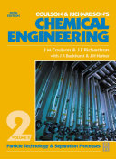 Coulson & Richardson's Chemical Engineering: Particle technology and separation processes. 5th ed