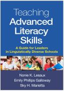 Teaching Advanced Literacy Skills