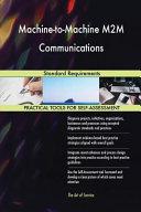 Machine To Machine M2m Communications