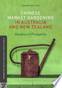 Chinese Market Gardening in Australia and New Zealand Book