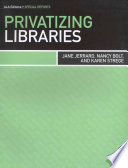 Privatizing Libraries Book PDF